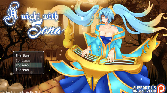 Night with sona from mole games