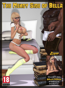 Zzomp the nerdy side of bella 3d porn comic.