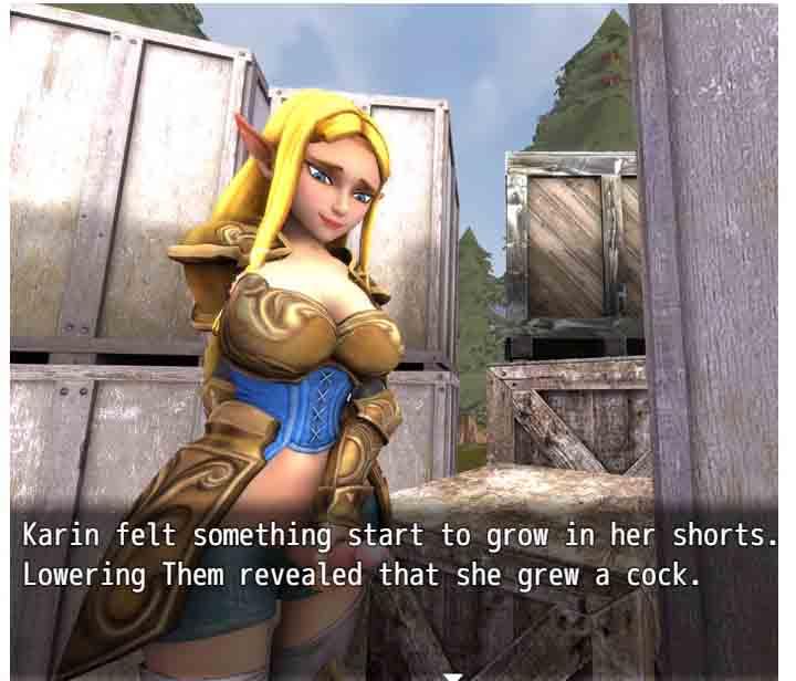 Crescent games futa goddess