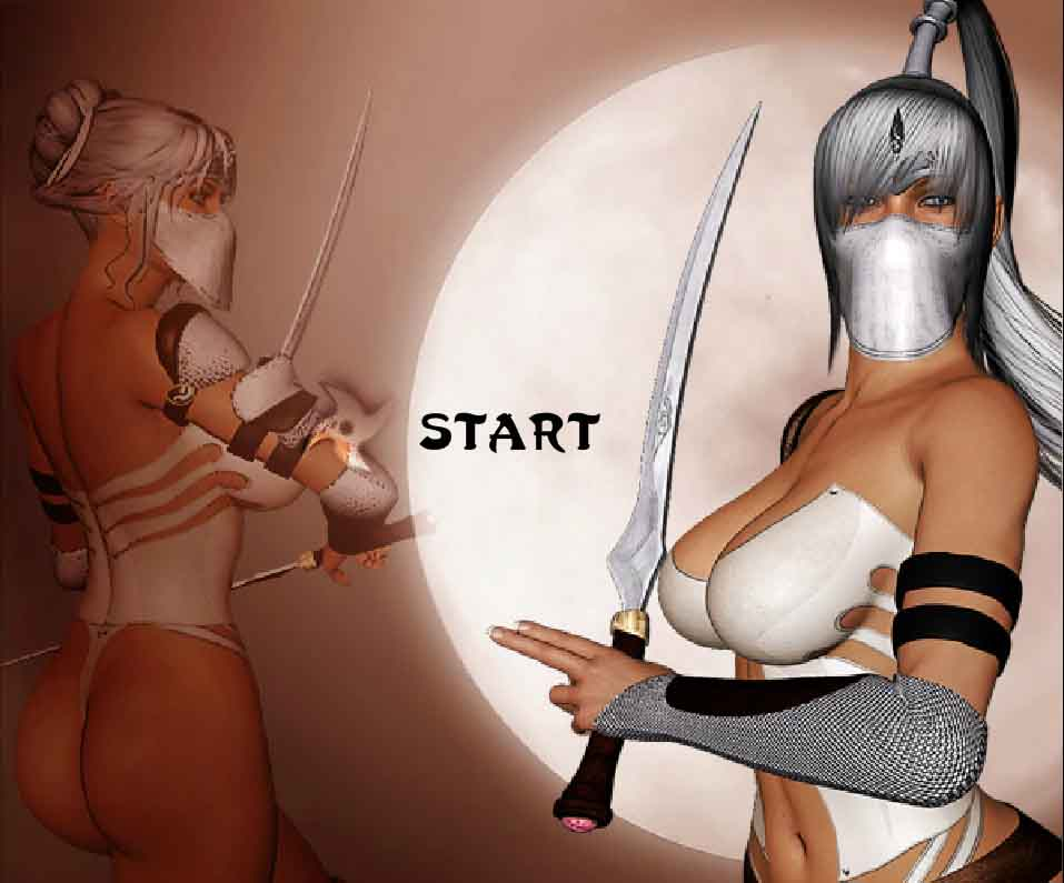 Barbarian Babes Ninjazon Gauntlet