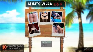 Milf's Villa Adult Game