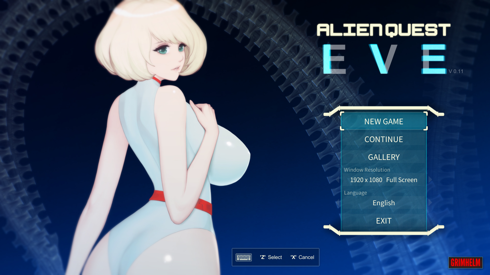 Alien Quest Eve Adult Game