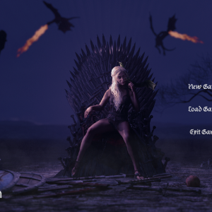 Whores of Thronesポルノゲーム