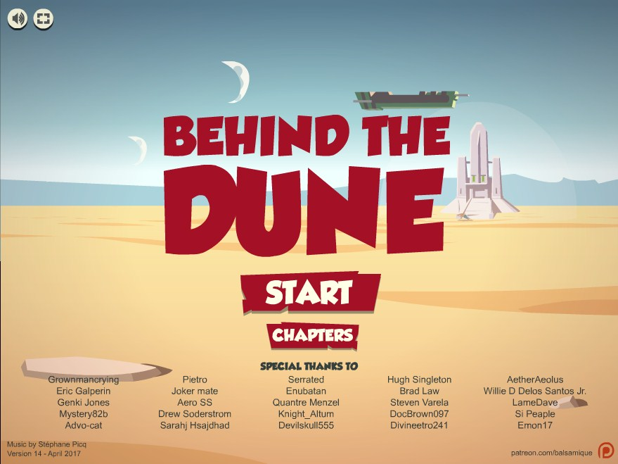 Behind the Dune