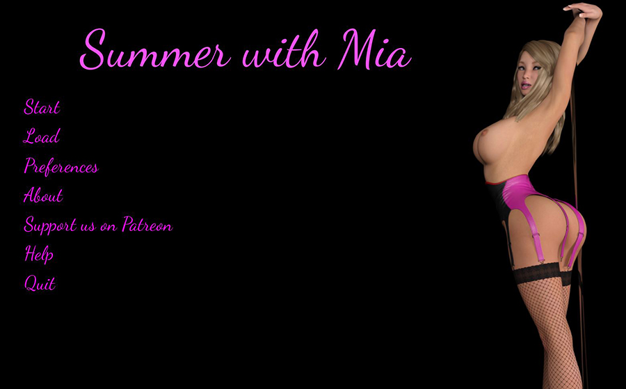 Summer with Mia Adult Game