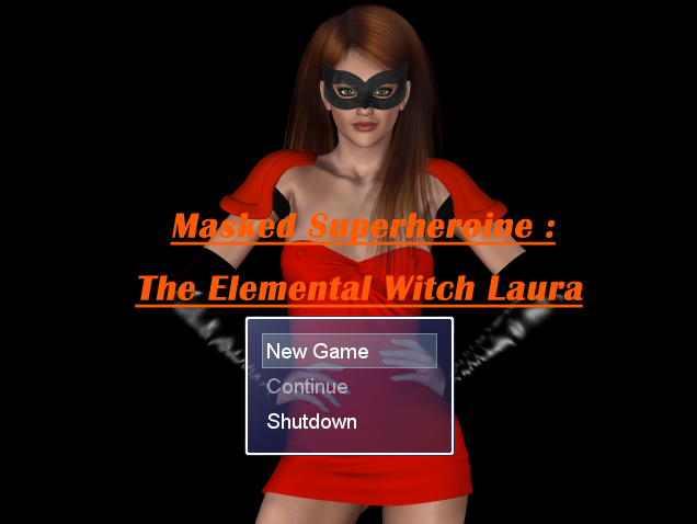 The Elemental Witch Laura Masked Superherione