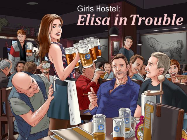 Girls Hostel Elisa in Trouble