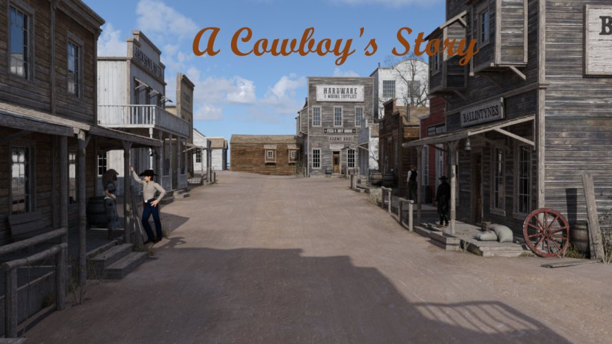 A cowboys story - Porn Game 3D AdultGameson
