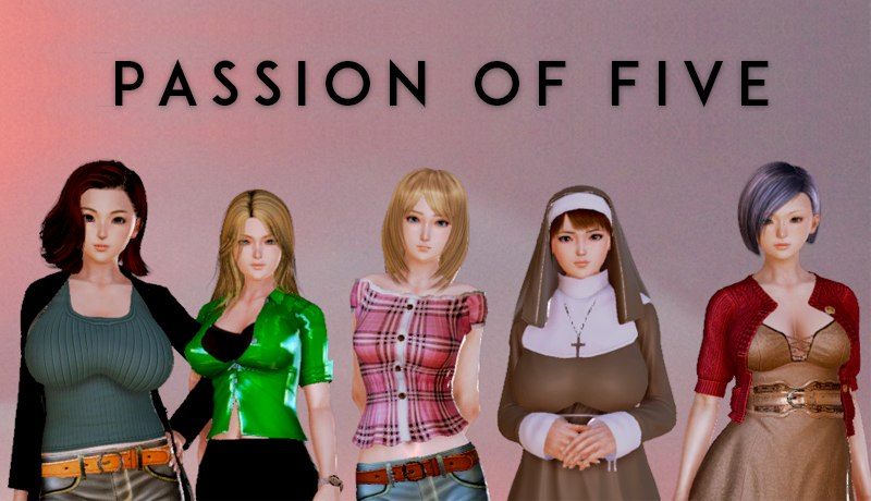 Passion Of Five - Porn Game