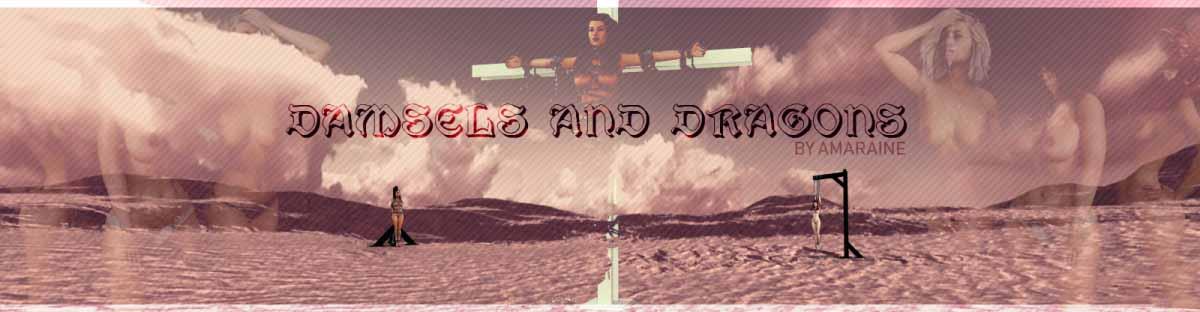 Damsels un Dungeons 3d pieaugušo spēle