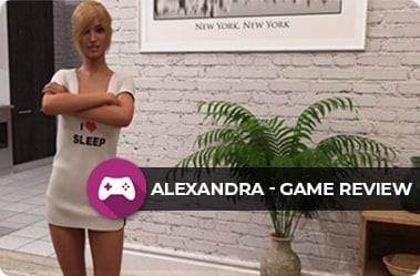Alexandra – One Letter Short of Burning The Library Porn Game Review