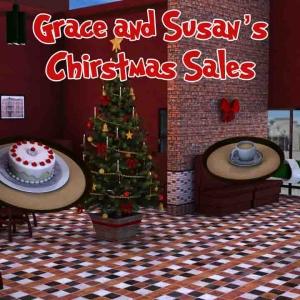 Vente de Noël Grace et Susan