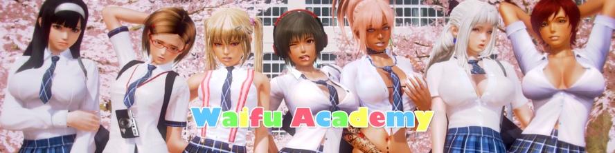 Waifu Academy - 3D Adult Games