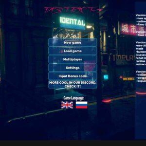 District-7 Cyberpunk stories
