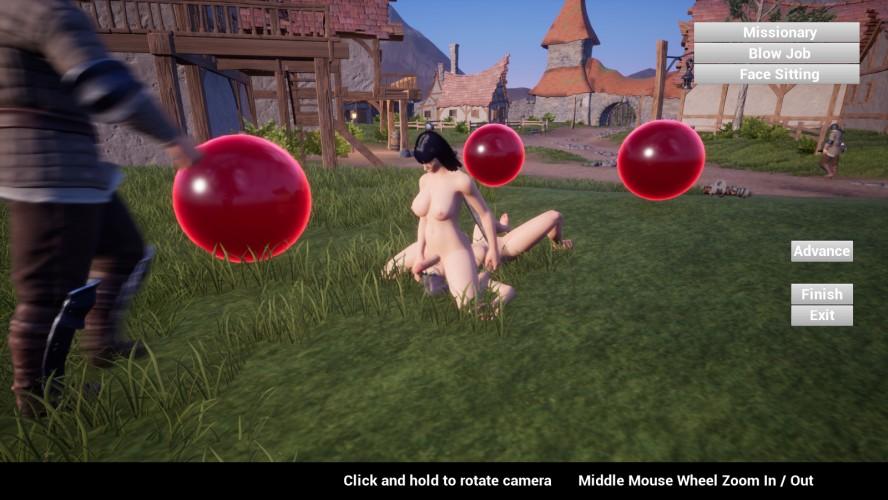 Feign - 3D-Spiele für Erwachsene