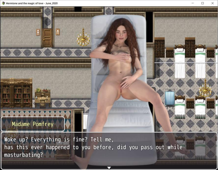 Hermione an d'Magie vun der Léift - 3D Erwuessene Spiller