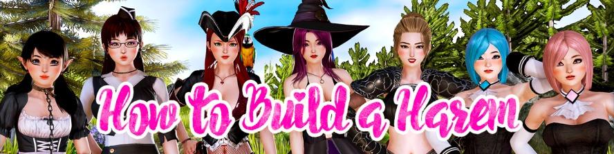 Kako zgraditi harem - 3D igre za odrasle