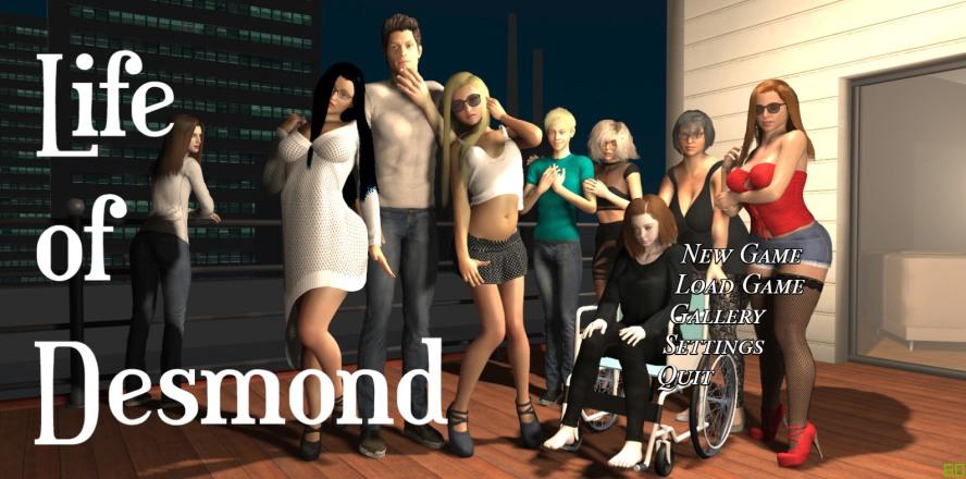 Life of Desmond - 3D Adult Games