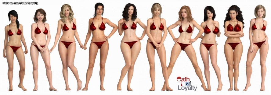 Oath of Loyalty - 3D Adult Games