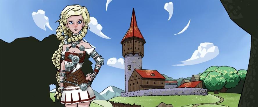 Princess Tower - 3D Adult games