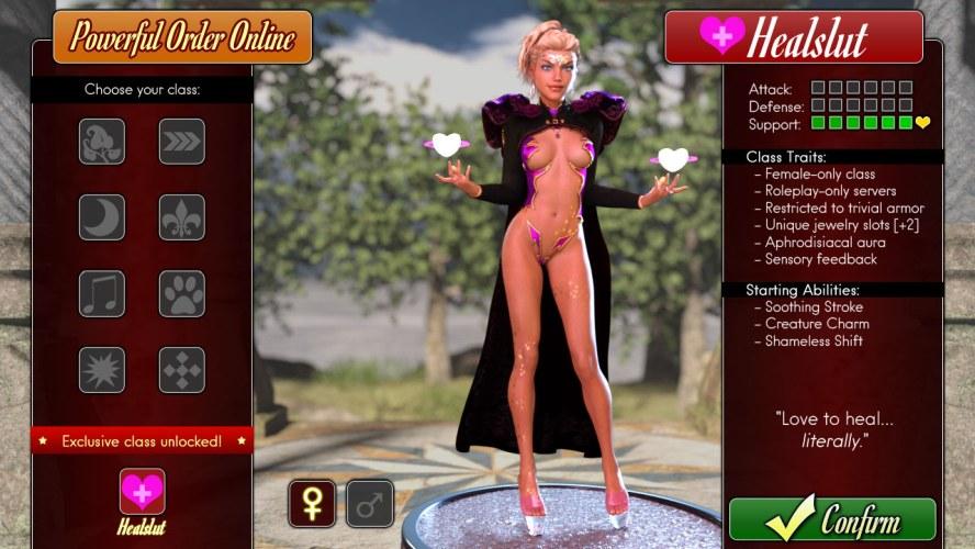 Healslut - Jocuri 3D pentru adulți
