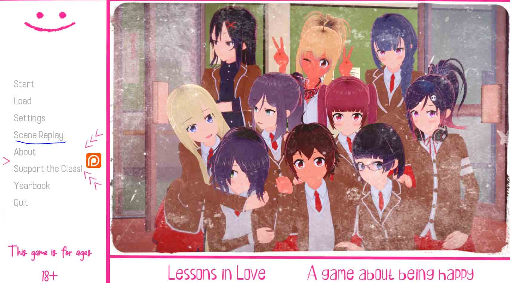 Mod Lessons in Love Gallery Unlocker