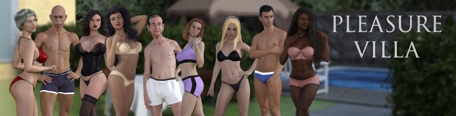 Pleasure Villa - 3D Adult Games