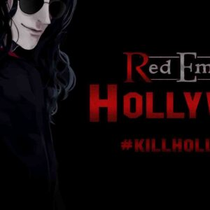 Etreinte rouge Hollywood