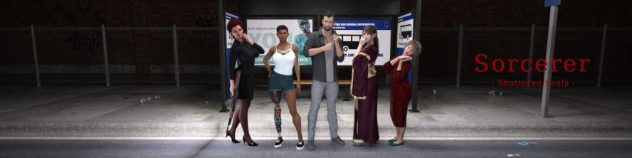 Sorcerer - 3D Adult Games