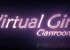 Sala de aula virtual feminina