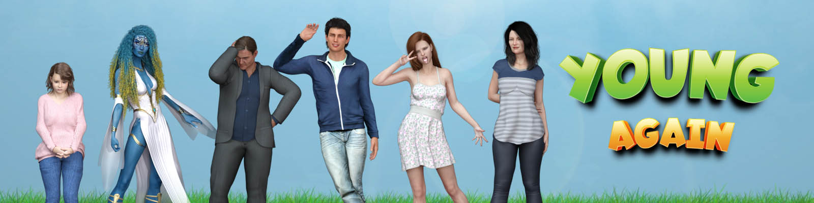 Young Again - 3D Adult Games