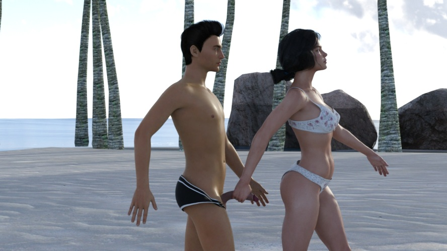 The Castaway Story - 3D Adult Games