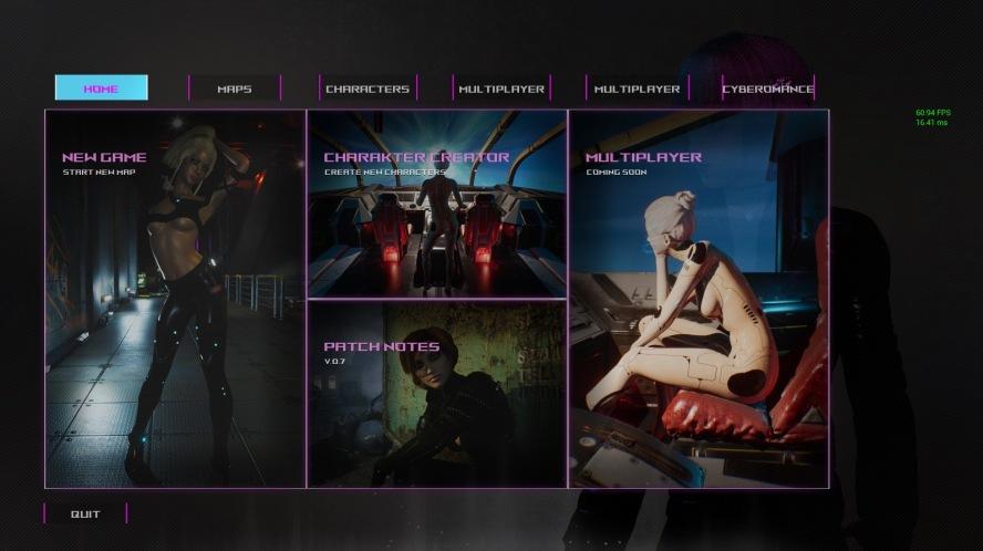 Cyberomance - 3D მოზრდილთა თამაშები