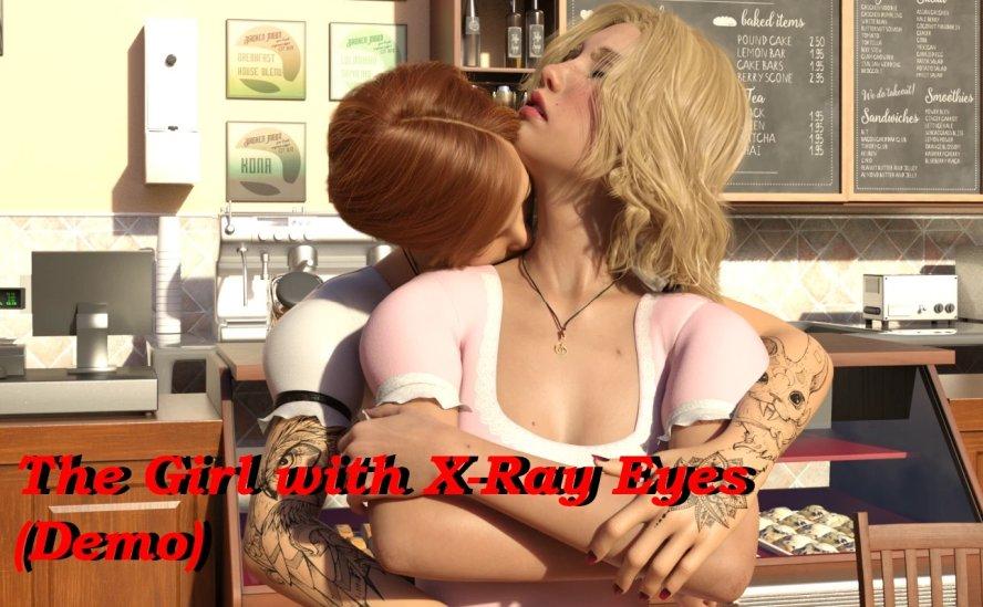 La fille aux yeux aux rayons X - Jeux 3D pour adultes