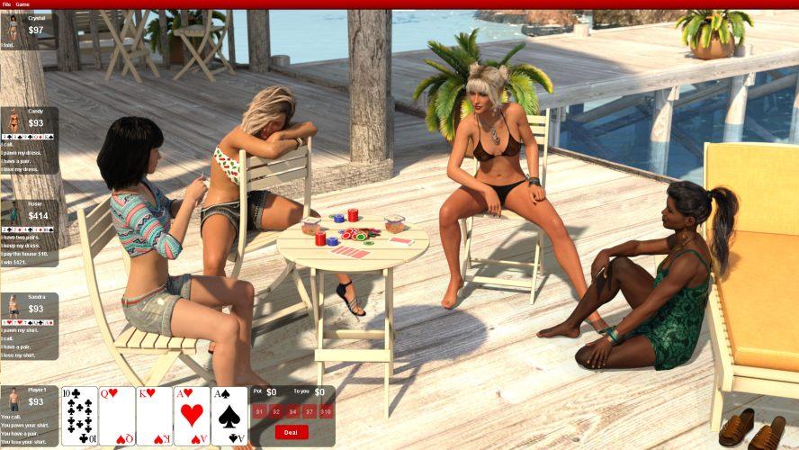 Strip adult game