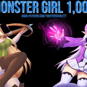 Fille monstre 1,000