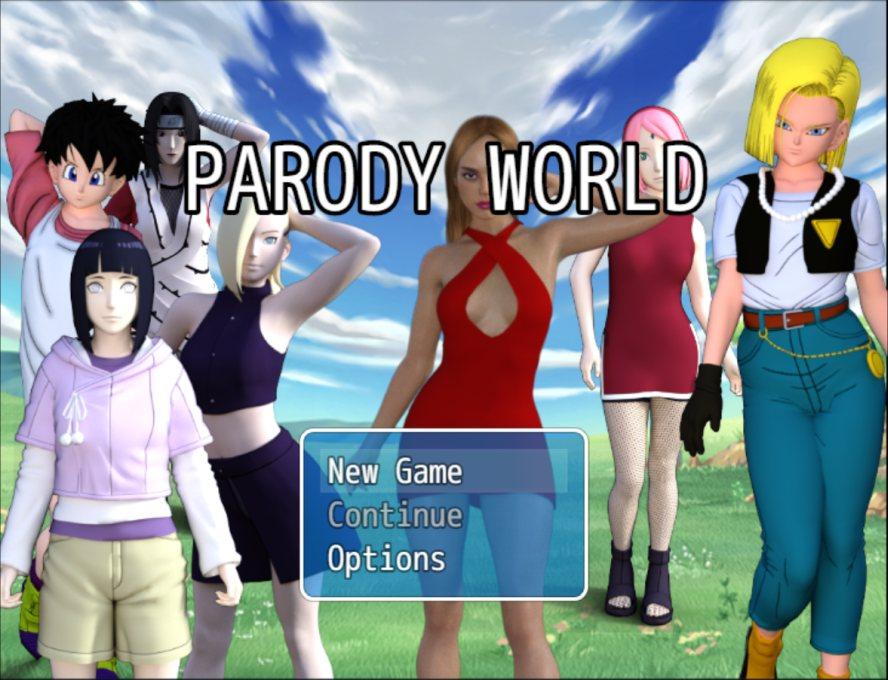 Parody World - 3D Adult Games
