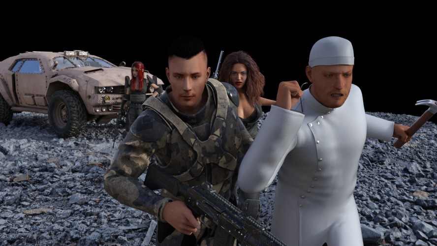 Skull and Bones - 3D Adult Games