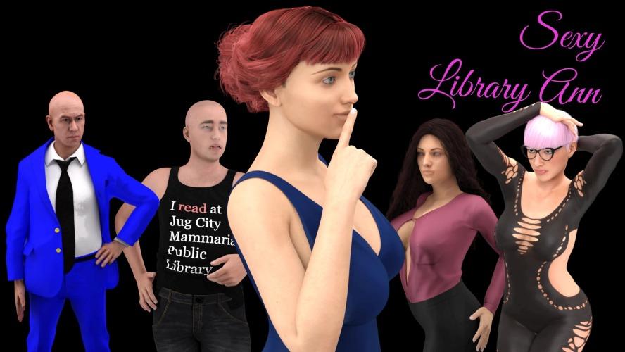 Leabharlann Sexy Ann - Geamannan Inbheach 3D