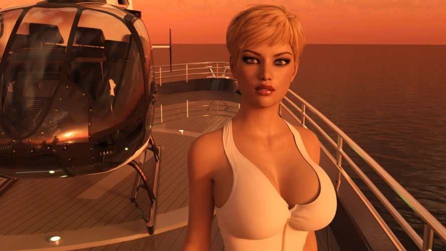 Leisure Yacht - 3D Adult Games