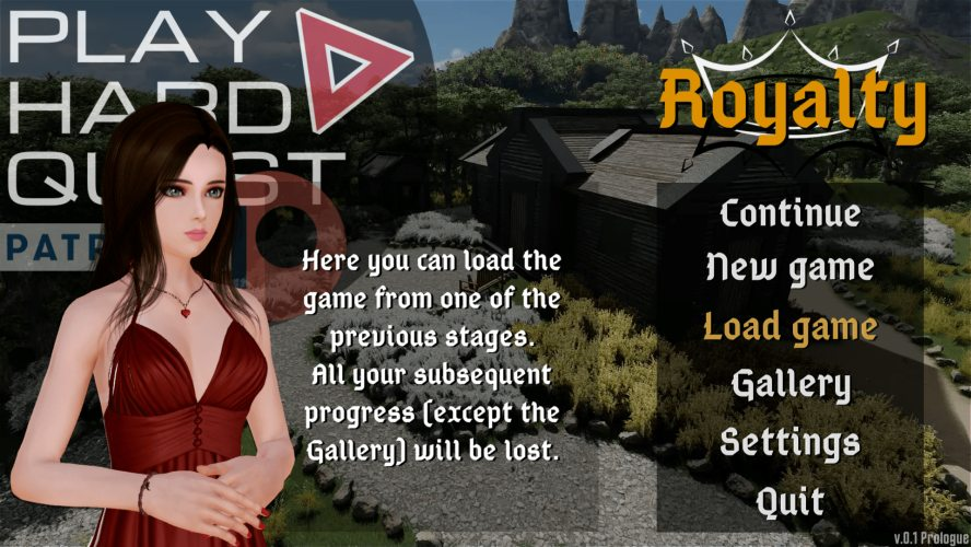 Royalty - 3D Adult Games