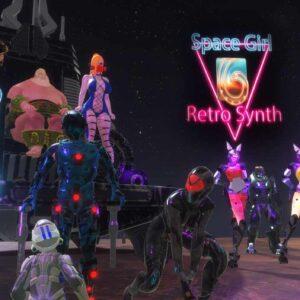 Synth Retro SpaceGirl
