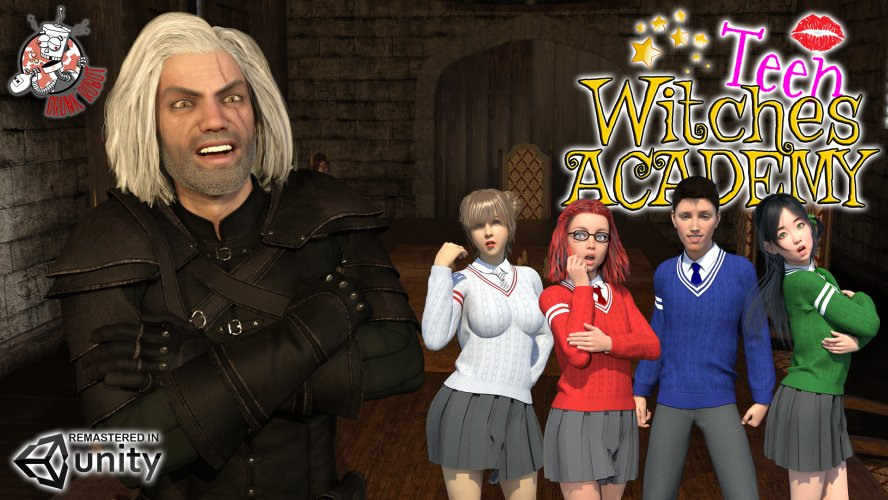 Teen Witches Academy - Remastered - 3D Adult Games
